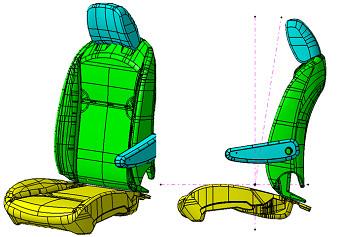 シートや内装材、吸音・制振材としても活用